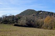 Vertiente SE de la sierra de Sant Miquel del Mont.