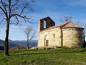 La atalaya sobre la Via Annia en la Garrotxa