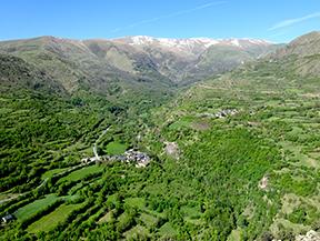 El valle de �ssua, tierra de pastores