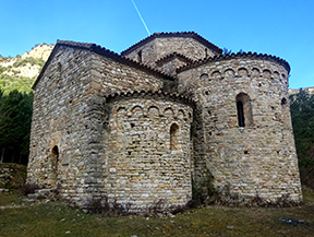 De la Vall d�Ora al pla de Busa y Sant Pere de Graudescales