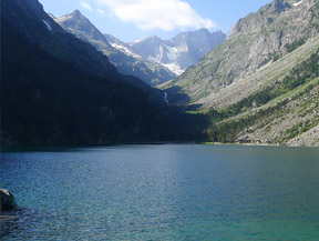 Lago de Gaube desde Pont d�Espagne