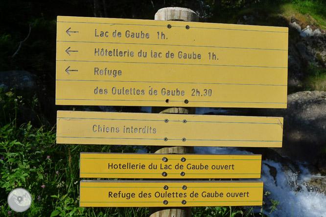 Lago de Gaube desde Pont d
