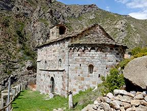 Virgen de Arbol� y Gerri de la Sal desde Sort