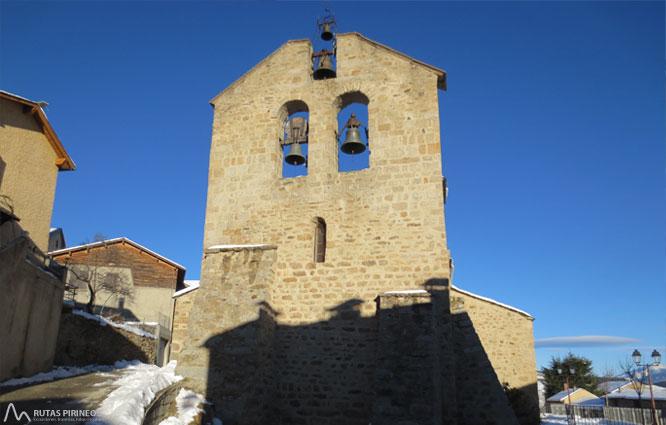 Mare de Déu de Bell-lloc desde Dorres 1