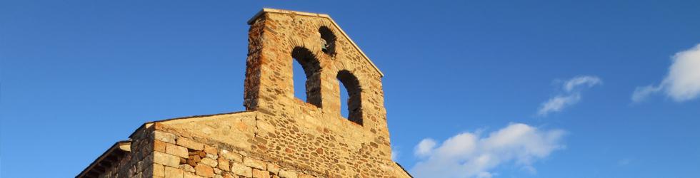 Mare de Déu de Bell-lloc desde Dorres
