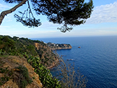 Macizo de la Ardenya desde Sant Feliu de Guíxols