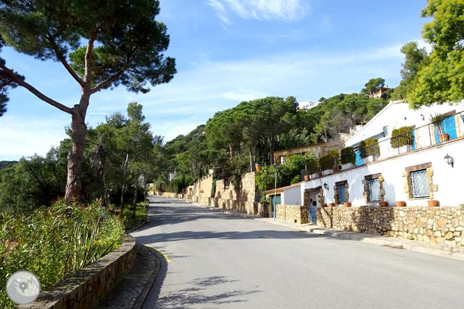Macizo de la Ardenya desde Sant Feliu de Guíxols 1
