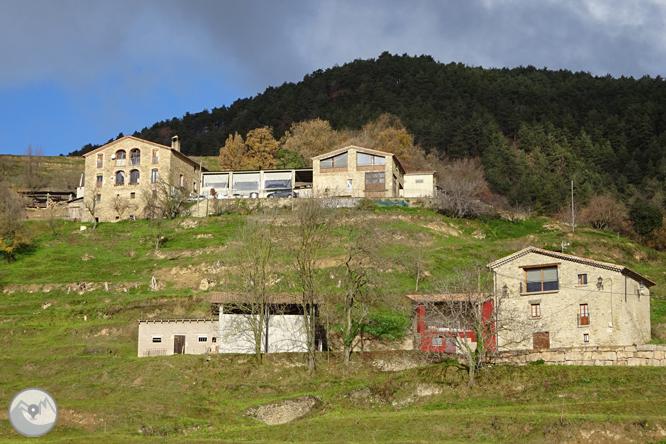 Matamala y Les Llosses por antiguos caminos de herradura 1
