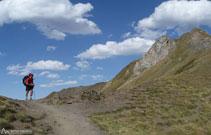 Collado de Soum de Pombie a 2.129m de altitud.