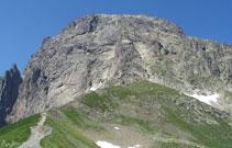 Vista del Midi desde el collado de Suzon.