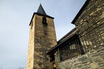 Iglesia de Sant Pere i Sant Pau en Esterri de Cardós.