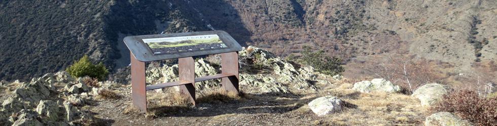 Mirador del Cap de la Roca en Esterri de Cardós