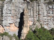 Formaciones curiosas de roca.