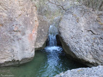Río del barranco de Sant Pere.