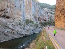 Sector de escalada de La Pedrera.