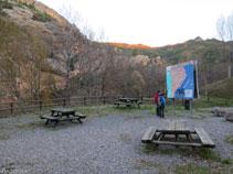 Área de descanso de la Font de la Figuereta.