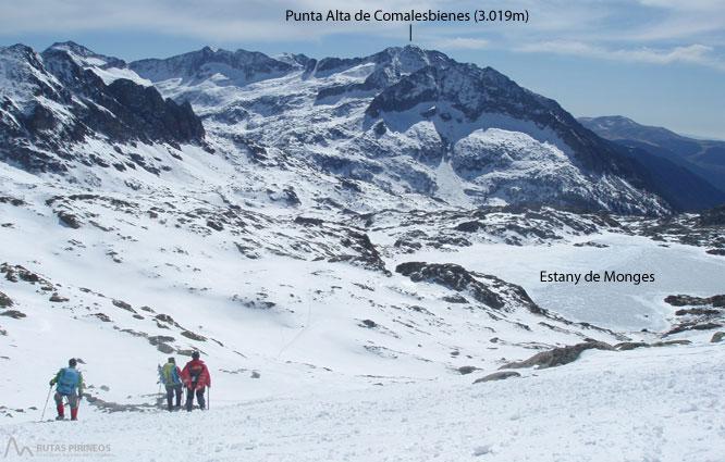 Montardo (2.833m) y Montardo Petit (2.781m) por Cavallers 2