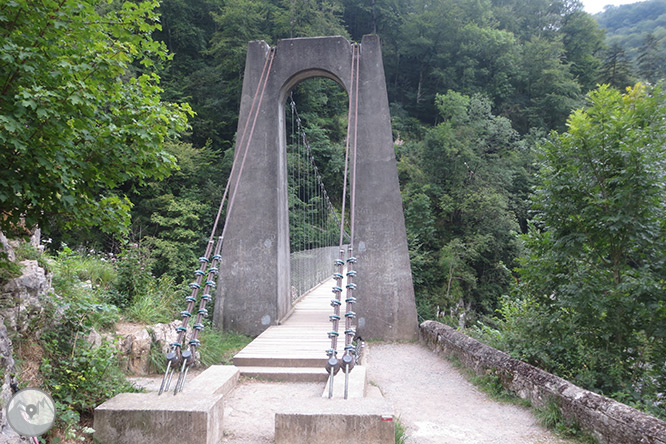 La pasarela de Holzarté y las gargantas de Olhadubi 1