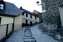 Calle Mayor de Gausac.