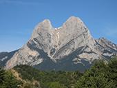 Pedraforca (2.506m) por el collado del Verdet y la Enforcadura