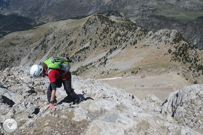 Pedraforca (2.506m) por el collado del Verdet y la Enforcadura 1