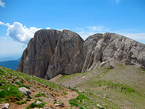 Pedraforca (2.506m) desde G�sol