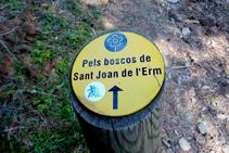 Indicaciones del itinerario.