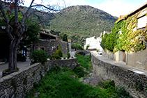 Ribera de la Selva llegando al pueblo de la Selva de Mar.