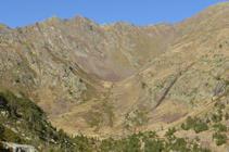 Valles en forma de U vistos desde el collado de Comapedrosa.