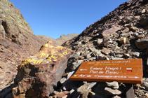 Camino al Alto de Comapedrosa.