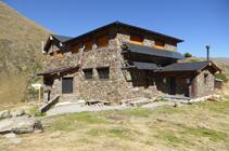 Refugio de Comapedrosa.