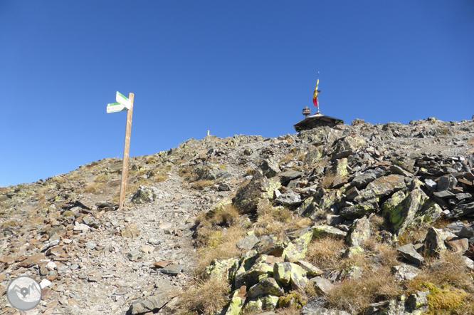 Pico de Comapedrosa (2.942m) desde Arinsal 1