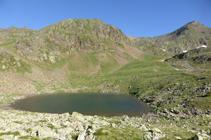Lago segundo de Ransol.