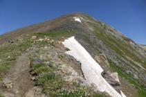 Cresta del pico de la Serrera.