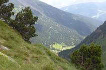 Pendientes sobre el valle de Ransol.