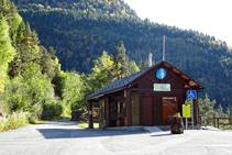 Oficina de información del Parque Natural del Valle de Sorteny.