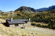 Refugio Borda de Sorteny.