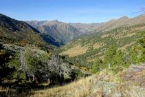 Mirador del valle de Sorteny.
