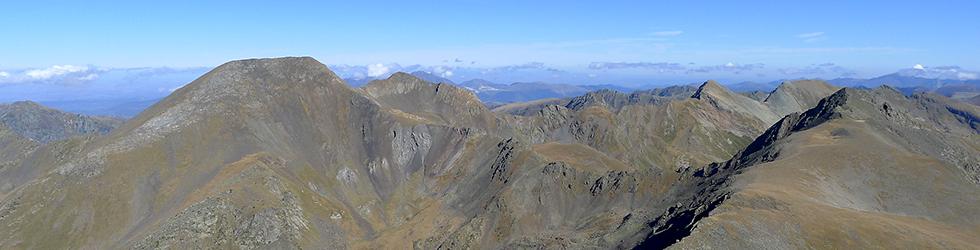Pico de la Serrera (2.913m) por el valle de Sorteny