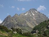 Pico de Rulhe (2.783m) desde el Pla de las Peyres