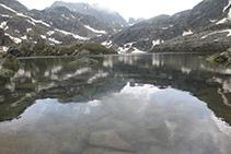 Lago Negre de Juclar.