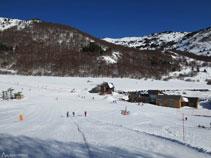 Estación de esquí de Mijanes.