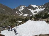 Carlit (2.921m) desde el embalse de las Bulloses