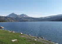 El embalse de las Bulloses, que está situado en la parte más alta de la zona del Capcir, tiene 149 hectáreas.