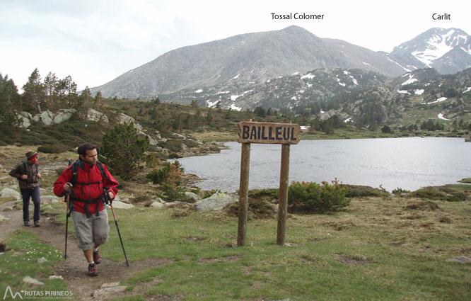 Carlit (2.921m) desde el embalse de las Bulloses 1