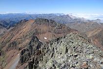 Las vistas que nos ofrece el pico Verdaguer recompensan plenamente el esfuerzo de subirlo.