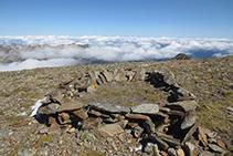 Cumbre del Montcalm.