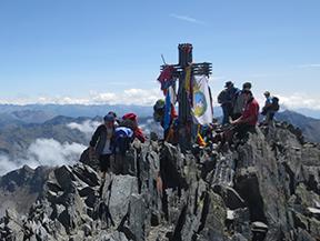 Pica d�Estats (3.143m) desde la Vall Ferrera