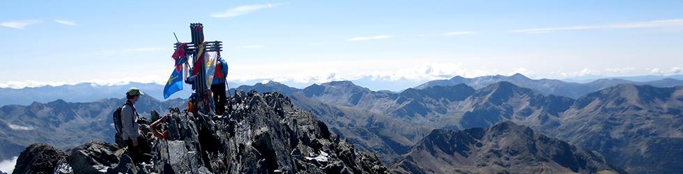 Pica d´Estats (3.143m) desde la Vall Ferrera