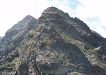 Trazamos el recorrido a seguir para alcanzar el segundo pico.